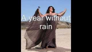 micheal jackson ft Selena Gomez-A year without rain-KARAOKE VERSION (Lyrics in description).flv.