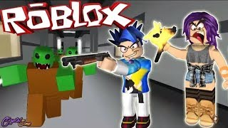 My first time roblox zombie attack mode