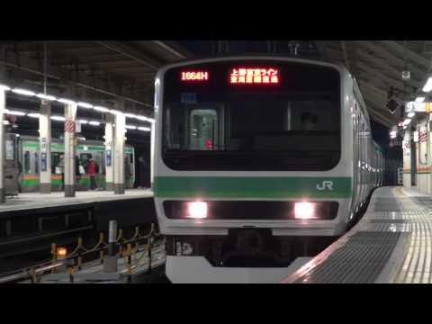 東京駅 列車撮影記 2017年2月5日