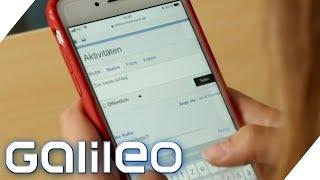 Kann man sich gegen Cybermobbing wehren? Das Experiment | Galileo | ProSieben