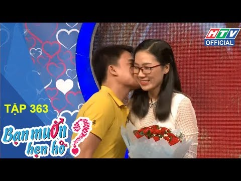 HTV BẠN MUỐN HẸN HÒ | Yêu nữ tài xế Grab, anh dám không | BMHH #363 FULL | 5/3/2018
