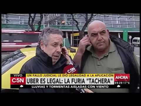 C5N - Transporte: Hablan taxistas ante el fallo sobre Uber