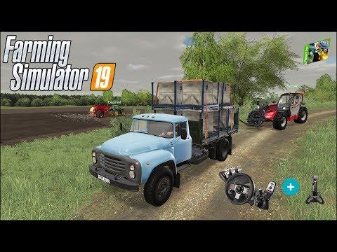 Farming Simulator 19 - Рассвет - 20 - Удобряем поля фермеров