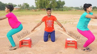 Must Watch New Comedy Video 2021Challenging  Funny Video 2021 Episode 118 By Funny Day