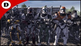 DELTA SQUAD HUNTS GENERAL GRIEVOUS - Men of War: Star Wars Mod