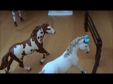 schleich pferde allein zu hause schleich video youtube. Black Bedroom Furniture Sets. Home Design Ideas