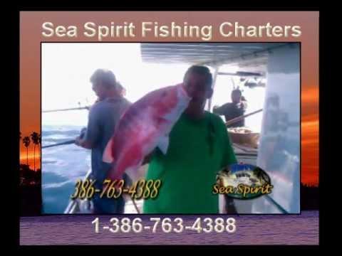 Sea spirit fishing charters youtube for Sea spirit fishing