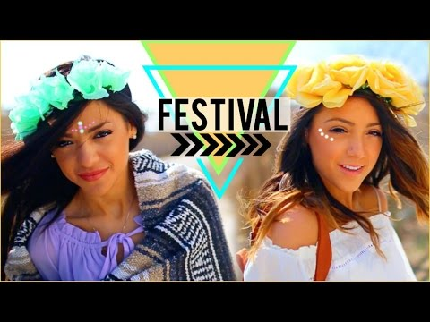 Festival (Coachella Inspired) Outfits + Essentials!