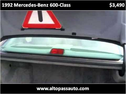 1992 mercedes benz 600 class used cars indianapolis in for 1992 mercedes benz 600 class