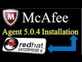 McAfee Agent 5 0 4 installation in RHEL  Linux Server