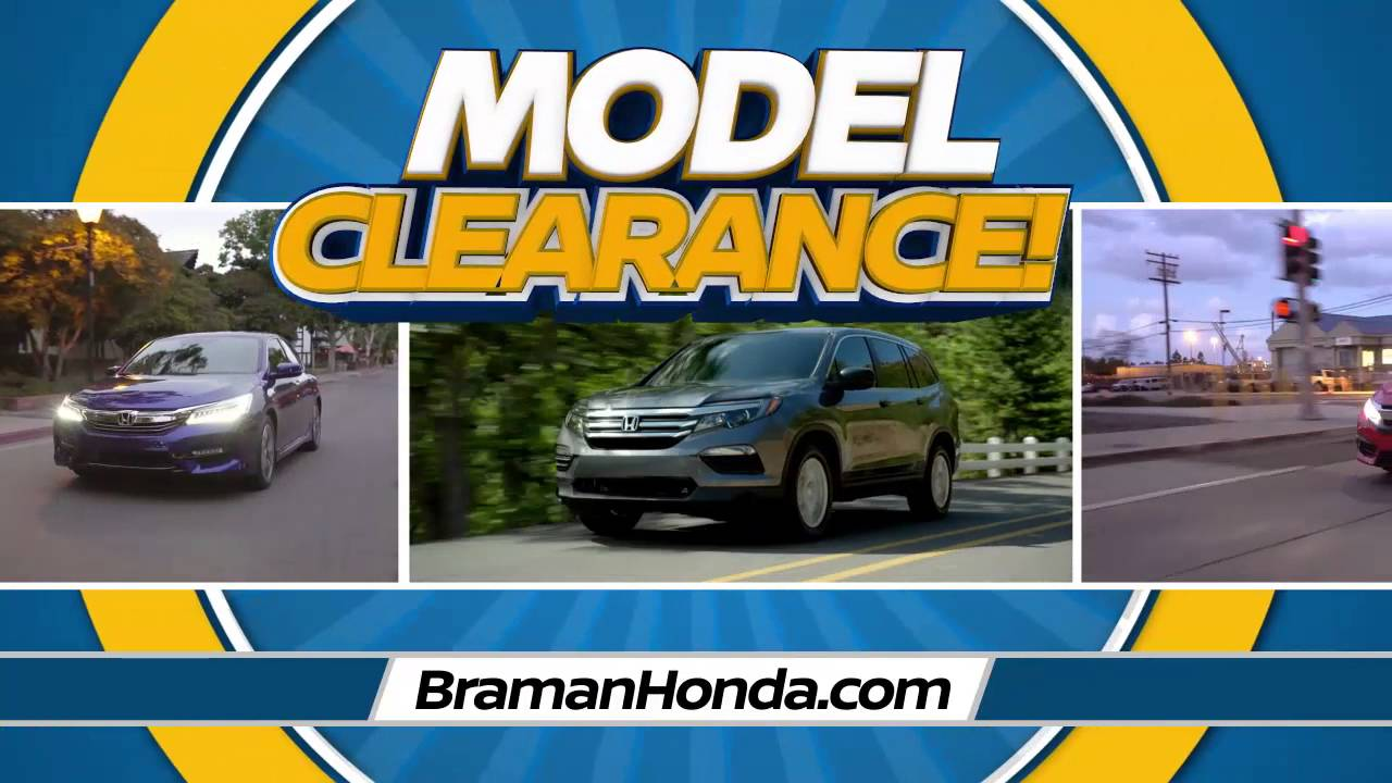 Braman Honda Miami   Model Clearance   Accord