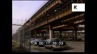 Queens and Harlem, New York 1989 - Graffiti and Subway Trains