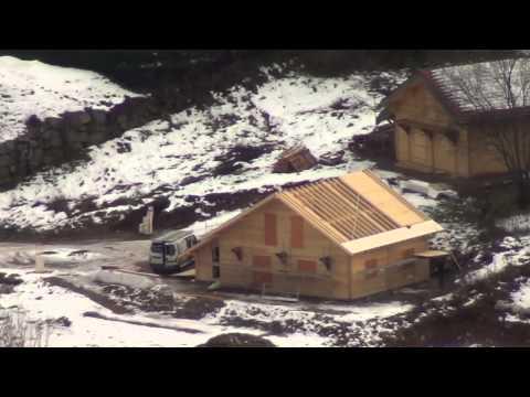Kota grill finlandais 16 5m2 avec extension maison for Montage maison en bois