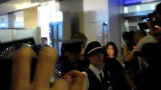 2011年9月17日 イベントのため来日したリダさんを羽田空港にてお出迎え...