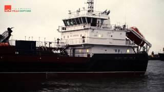 Завершены заводские ходовые испытания судна комплексного портового обслуживания «ВТН-74»(20-12-2014 Успешно завершены заводские ходовые испытания многофункционального судна комплексного портового..., 2014-12-21T21:03:39.000Z)