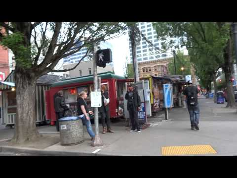 Walking Around Downtown Portland