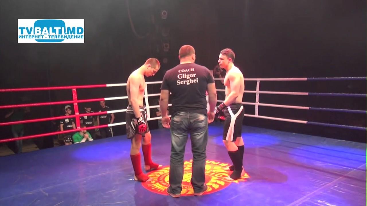 Показательные бои по кикбоксингу К-1 в Бельцах