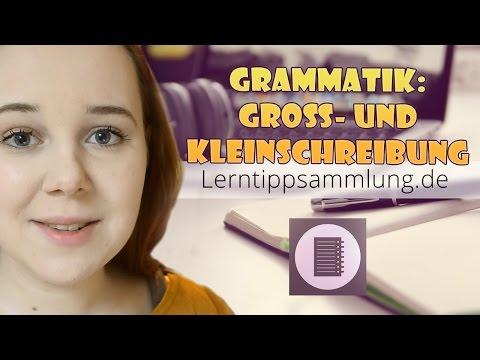 Deutsch - Grammatik: Die Groß- & Kleinschreibung - Lerntippsammlung.de