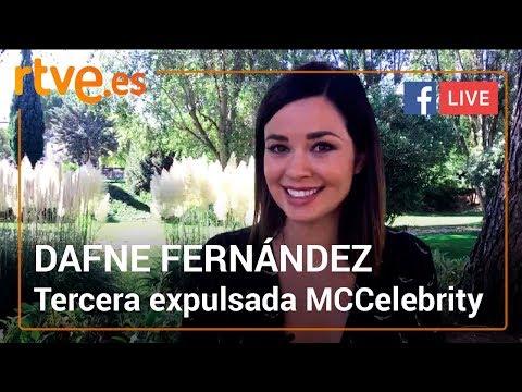 DAFNE FERNÁNDEZ, tercera expulsada de  'MasterChef Celebrity 3'   Facebook Live