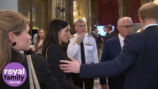 'Meg, Meg!!' Prince Harry tries to get Meghan Markle's attention
