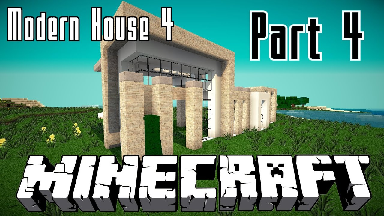 Minecraft modernes haus 4 bauen 004 hd youtube for Minecraft modernes haus bauen 1