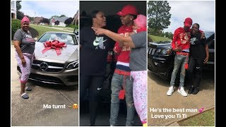 Lil Baby Buys His Mom and Sister New Cars