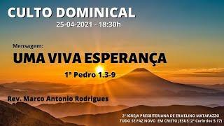 UMA VIVA ESPERANÇA - 1ª Pedro 1.3-9