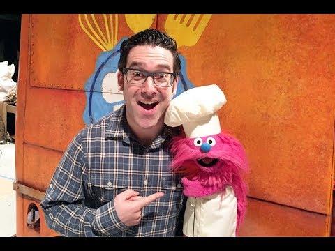 Meet Sesame Street's Gonger Star Of Cookie Monster's