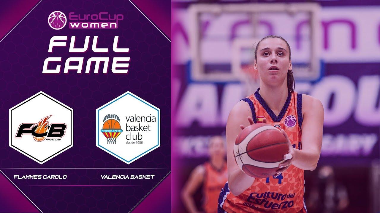 Semi-Finals: Carolo Basket v Valencia Basket Club SAD | Full Game - EuroCup Women 2020