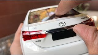Unboxing Of Mini Toyota Corolla Diecast Toy Car