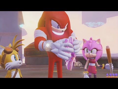 Sonic Boom Rise of Lyric - Pink Crystal vs Knuckles - The End is Near! #17