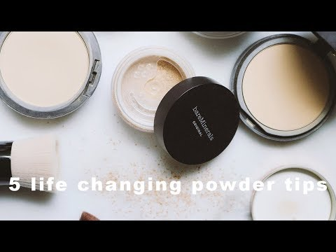 Why Your Powder Foundation isn't Working