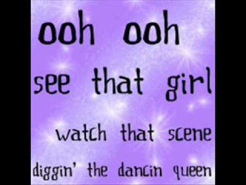 Dancing Queen - Lyrics (Mama Mia)