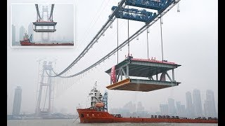 China is building the world's longest double-deck suspension bridge - Daily News