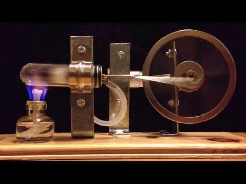 Stirling engine science DIY model for young physics students