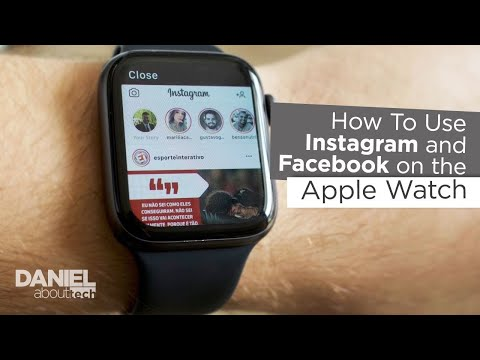 How To Use Instagram And Facebook On The Apple Watch!!