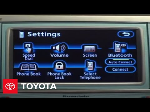 2007 - 2009 Camry How-To: Bluetooth® Phone Pairing - Navigation System | Toyota