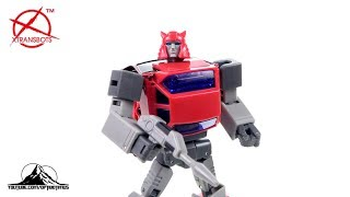 Optibotimus Reviews: X-Transbots Master Mini MM-X Toro (AKA MP Cliffjumper)