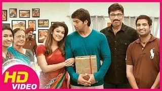 Raja Rani   Tamil Movie   Scenes   Clips   Comedy   Songs   Nayanthara celebrates Arya's birthday