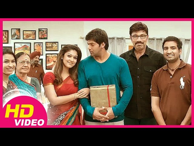 Raja Rani -Nayanthara celebrates Arya's birthday Travel Video