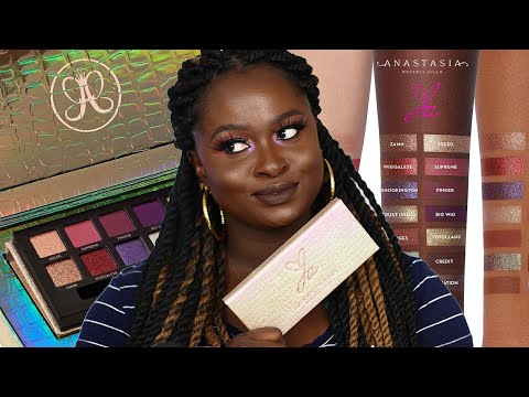 HOW ASHY IS THE JACKIE AINA X ANASTASIA BEVERLY HILLS PALETTE?!| OHEMAA BONSU thumbnail