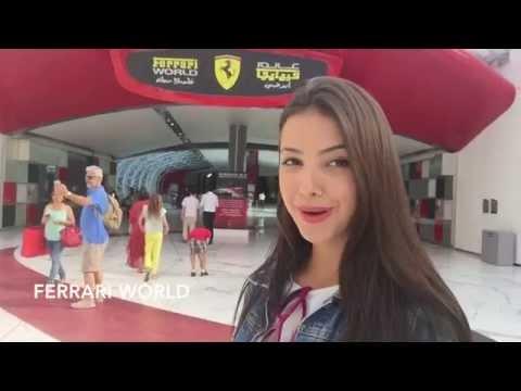 Raiza em: Tour por Abu Dhabi
