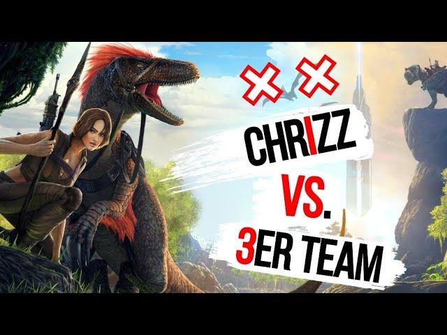 Chrizz vs. Gabax, Eesy & Miri 🦖 ARK: Twitch Wars - Training [Deutsch]