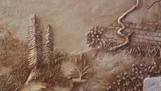 Художественные и декоративные работы из гипса