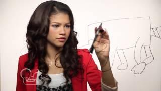 Dessine Perry - Zendaya de Shake It Up - Phinéas&Ferb - Disney Channel !