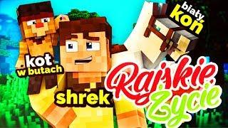 KOT W BUTACH I BIAŁY RUMAK?! Minecraft Rajskie Życie Sezon II - ODCINEK 3