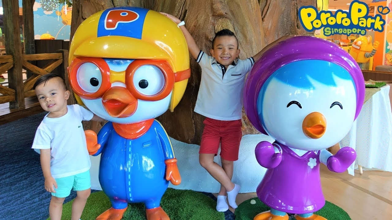 PORORO Park Fun Playtime  With CKN Toys