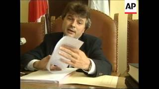 KOSOVO: ALBANIANS SUSPECTED OF ESPIONAGE ARRESTED