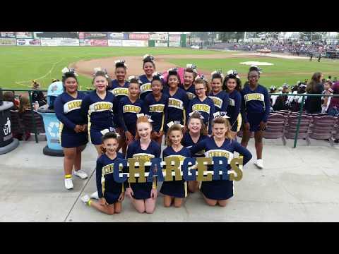 2017 Corona Chargers Pee Wee Cheer Comp Squad