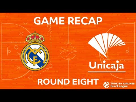 Highlights: Real Madrid - Unicaja Malaga